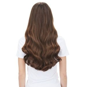 BELLAMI CHOCOLATE BROWN  HAIR EXTENSIONS 160g 20""